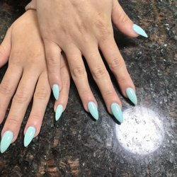 Black and unicorn chrome done by Alice at Diva Nails in Chula Vista ...