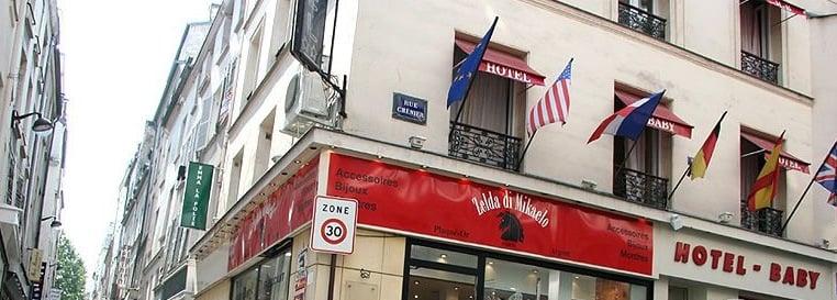 Hotel Baby Paris Rue Chenier