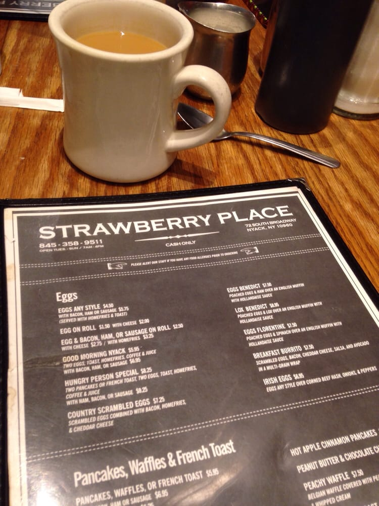 Strawberry patch nyack ny menu pages