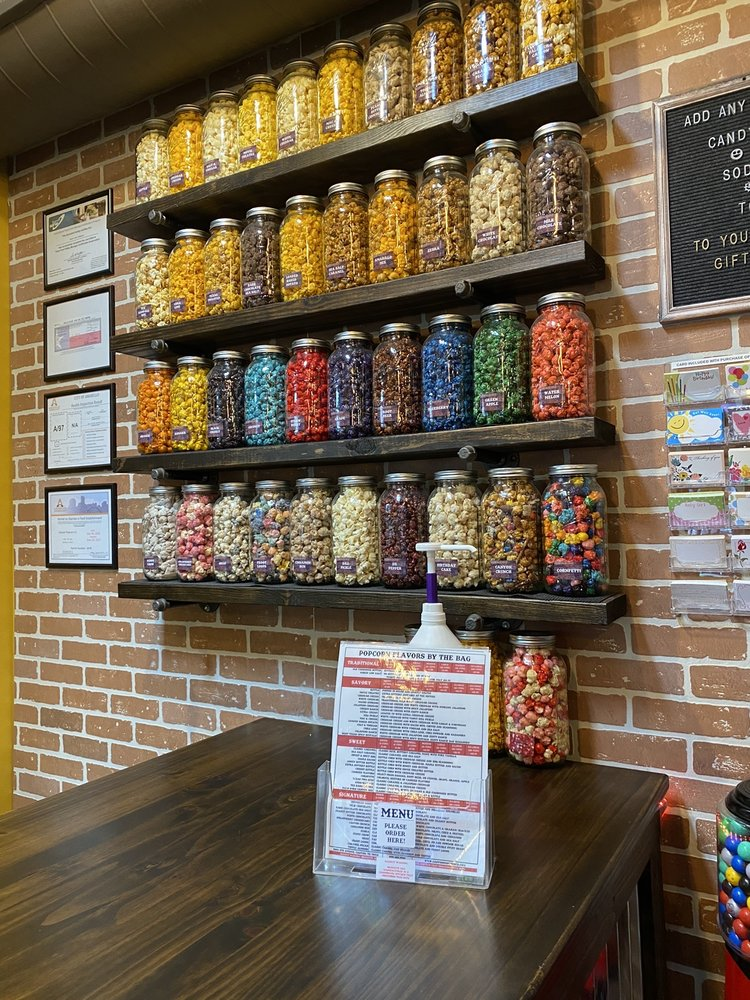 Food from Canyon Popcorn Co