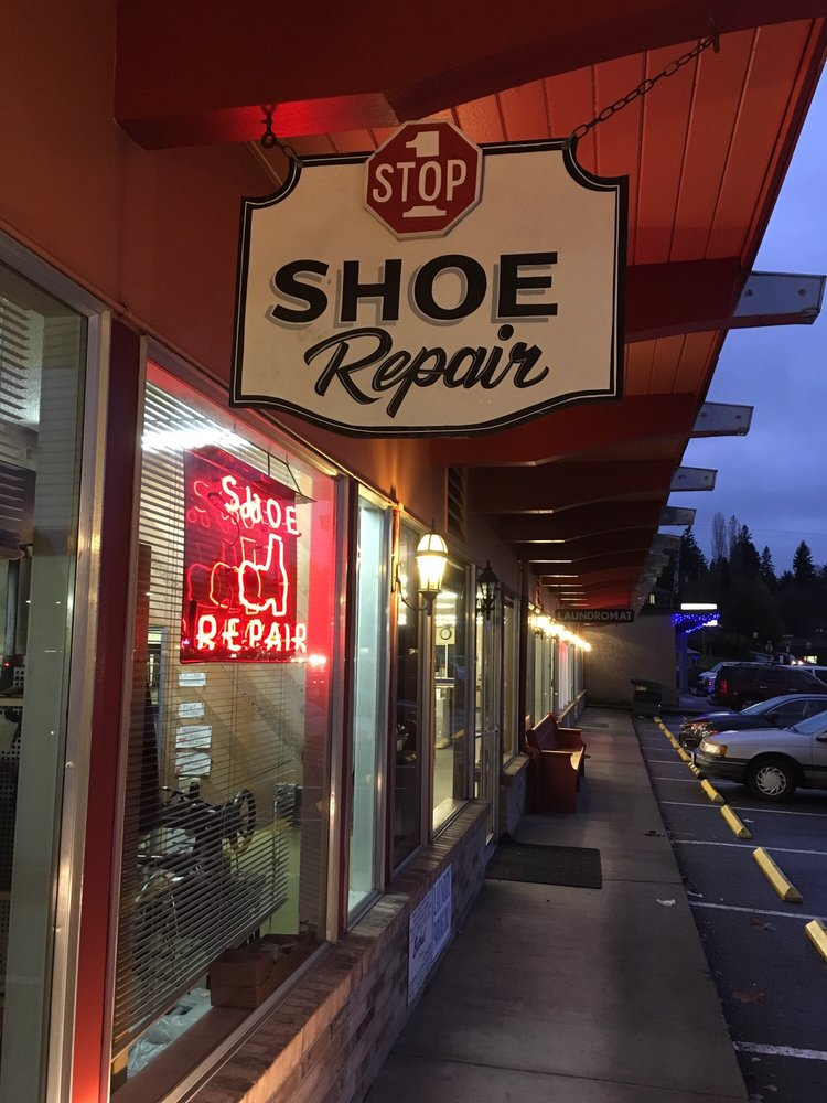 One Stop Shoe Repair: 1614 Bay St, Port Orchard, WA