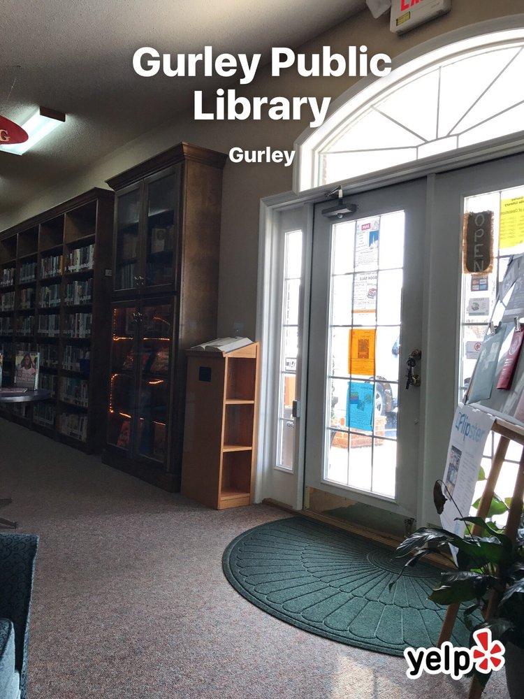 Gurley Public Library: 225 Walker St, Gurley, AL