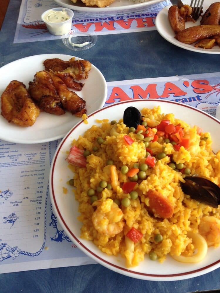 Arroz con mariscos yelp for Bahamas fish market