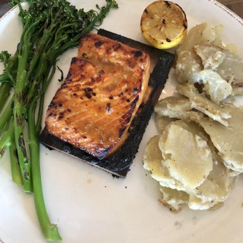 Photo Of Bluewater Grill Temecula Ca United States Cedar Plank Salmon