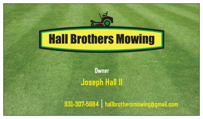 Hall Brothers Mowing: Winchester, TN