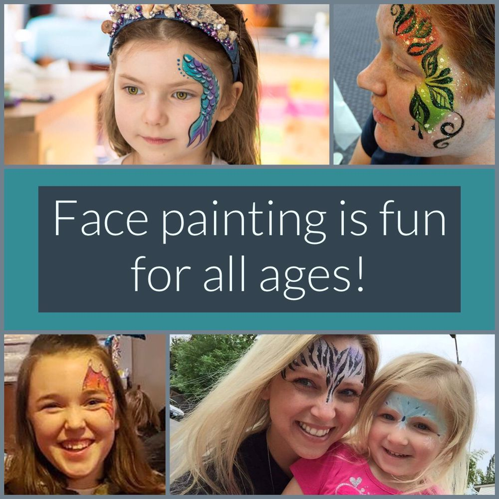 Kelsey, The Face Painting Lady: Vancouver, WA