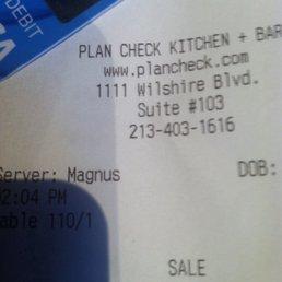 Plan Check Kitchen Bar Los Angeles Ca. Plan Check Kitchen Bar Los ...