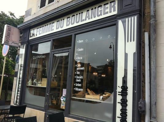 Carte La Femme Du Boulanger Vesoul.La Femme Du Boulanger Francais 2 Passage Jules Didier