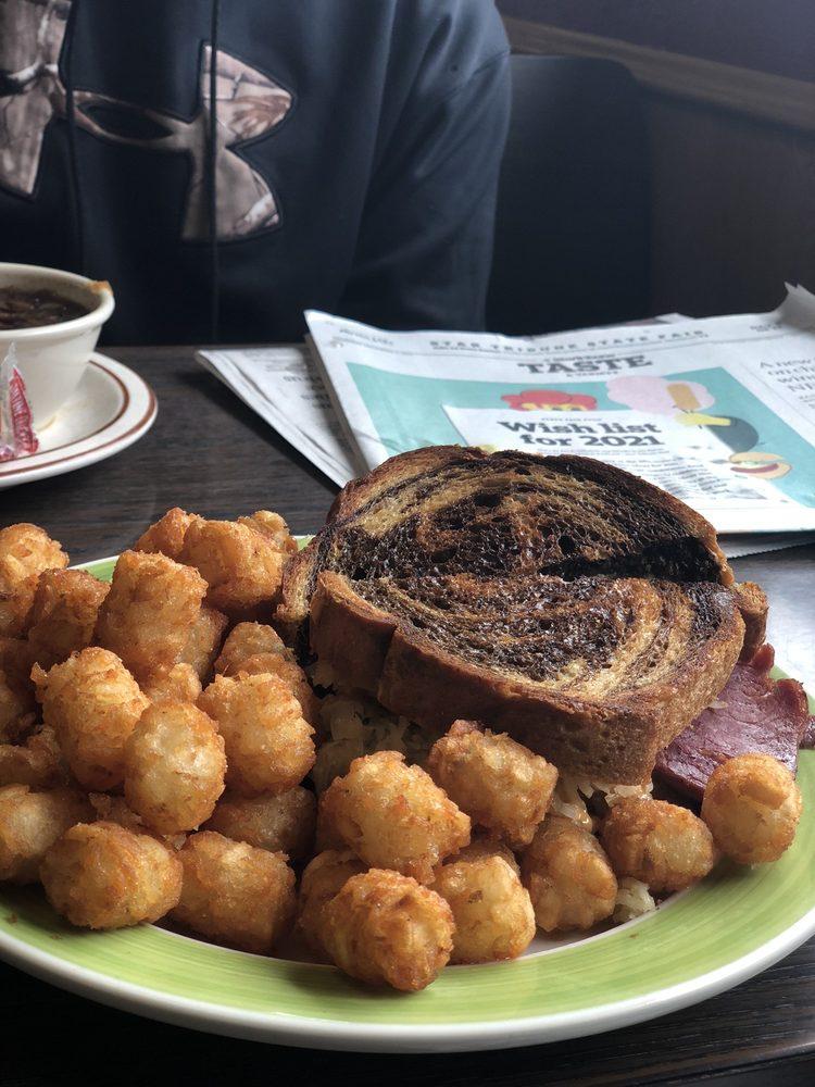 Zappy's Cafe: 10 Marie Ave SE, Akeley, MN