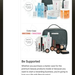 Beauticontrol Odie Wright Independent Consultant Closed 11