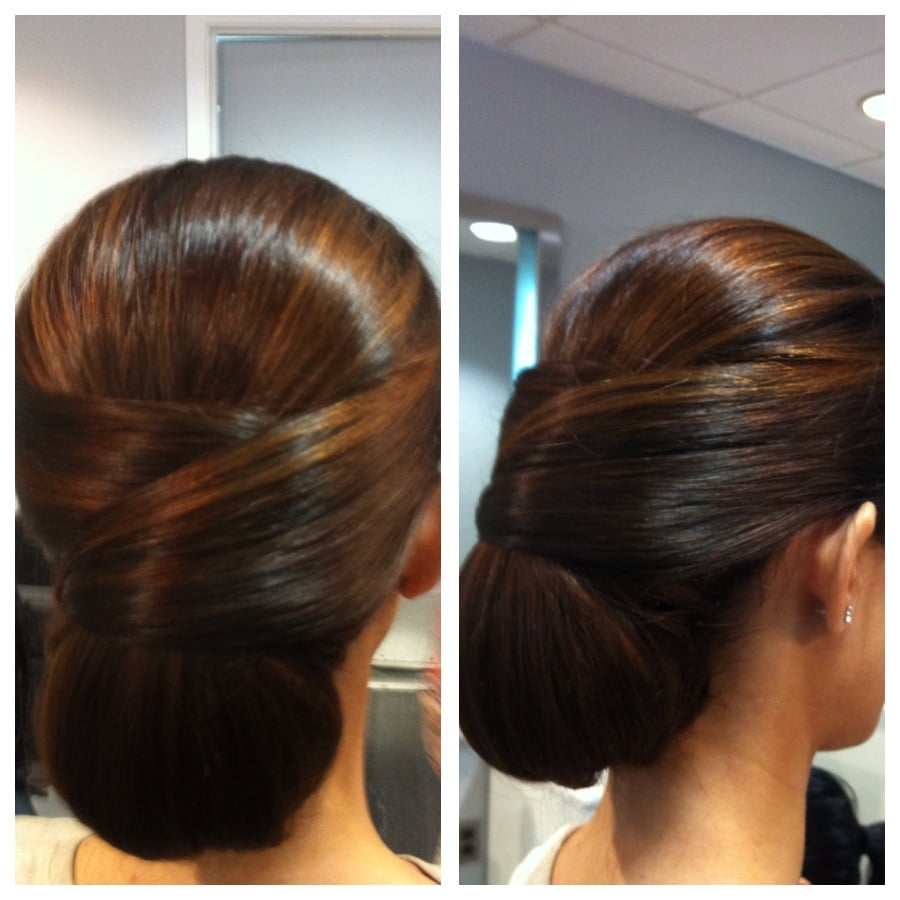 Updo by julia yelp for Aaron emanuel salon nyc