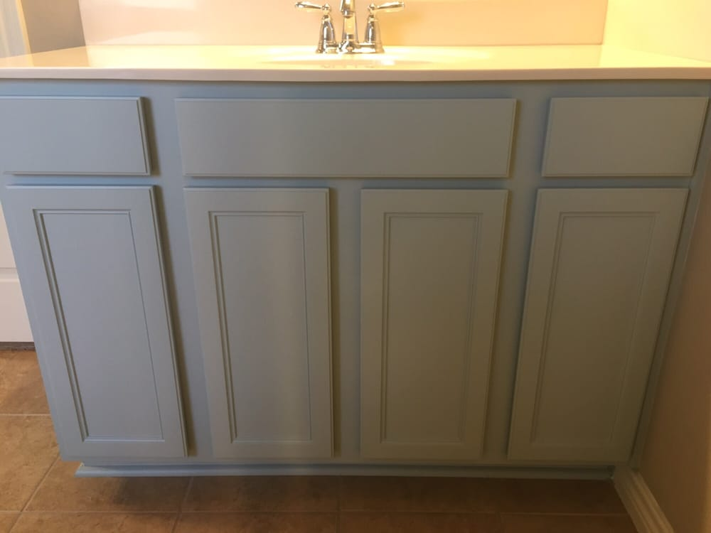 Bathroom cabinets in sw quietude yelp for Bathroom cabinets yelp