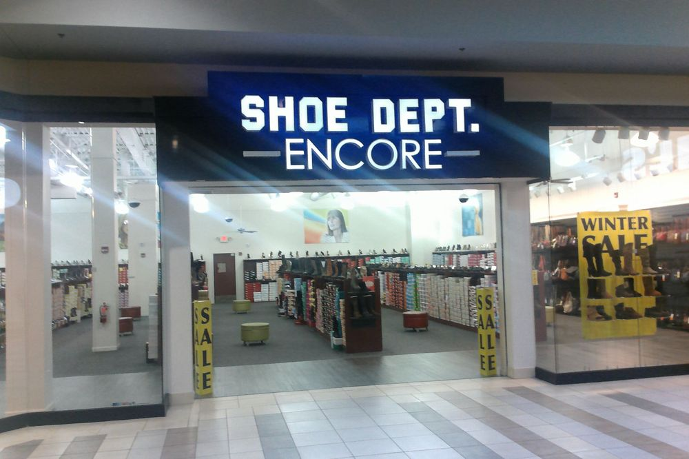 Shoe Dept. Encore: 810 New River Rd, Christiansburg, VA