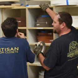 Photo Of Artisan Custom Closets   Marietta, GA, United States. Our  Production Crew