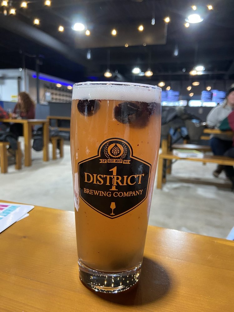 Food from District 1 Brewing Company