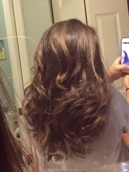 Balayage is a French word meaning to sweep or to paint  - Yelp