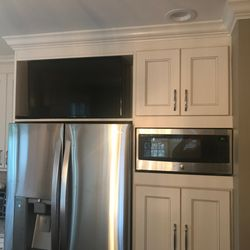 Photo Of The Kitchen Shop   Pequannock, NJ, United States. Custom TV U0026