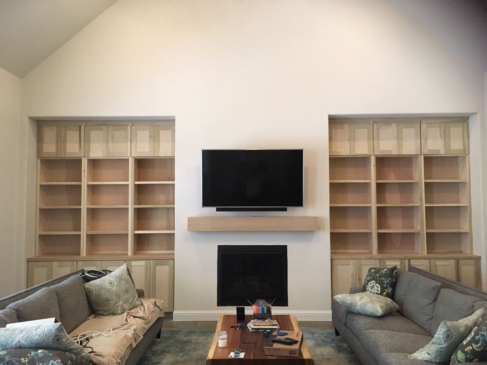 Niche Double Built In With Matching Mantle Yelp