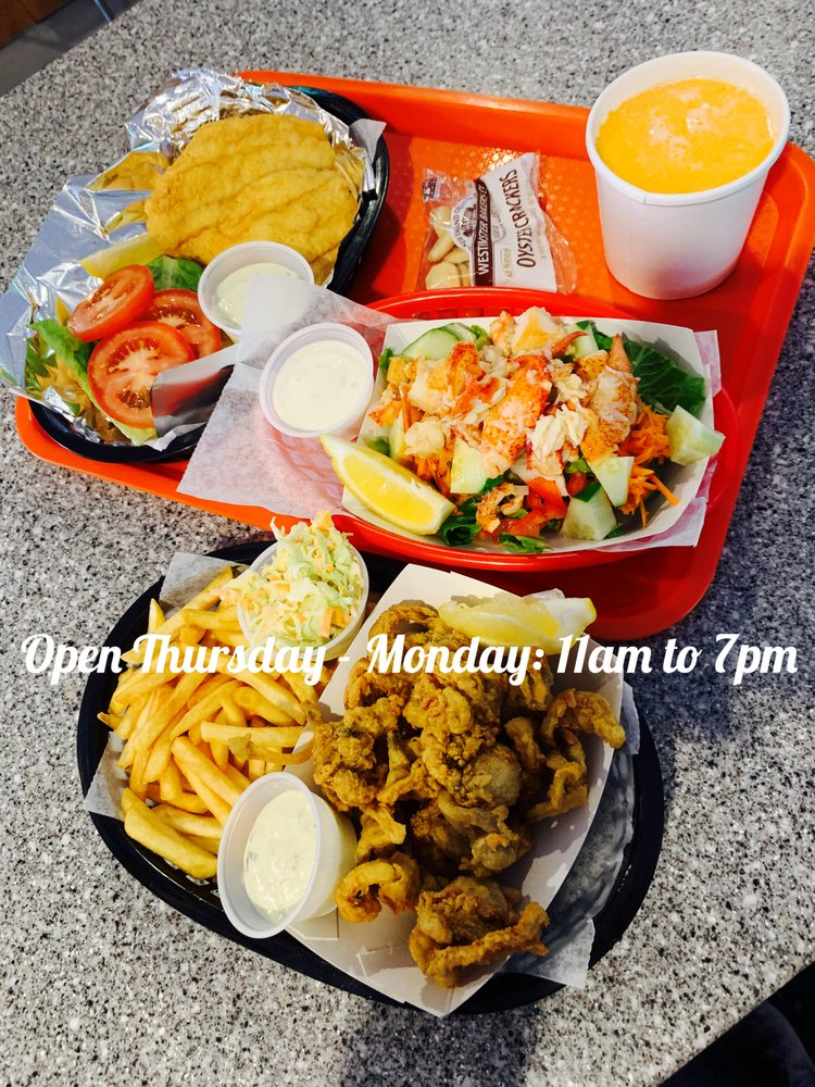The Lobster Haul: 115 Elm St, Damariscotta, ME