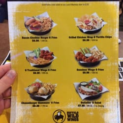 graphic regarding Buffalo Wild Wings Printable Menu titled Bww consume specials / Houston top quality outlet coupon guide