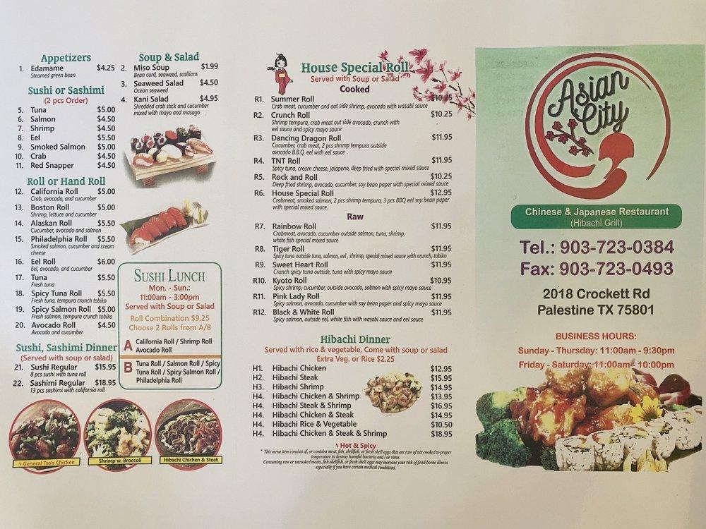 Asian City: 2018 Crockett Rd, Palestine, TX