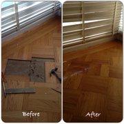 Sanding Photo Of Golden Oak Hardwood Floors San Francisco Ca United States