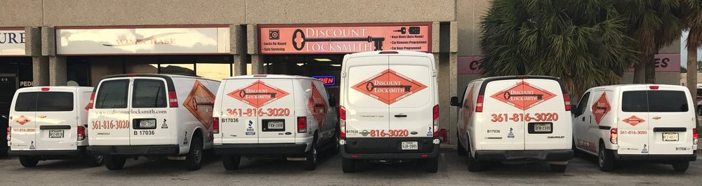 Discount Locksmith: 2033 Airline Rd, Corpus Christi, TX
