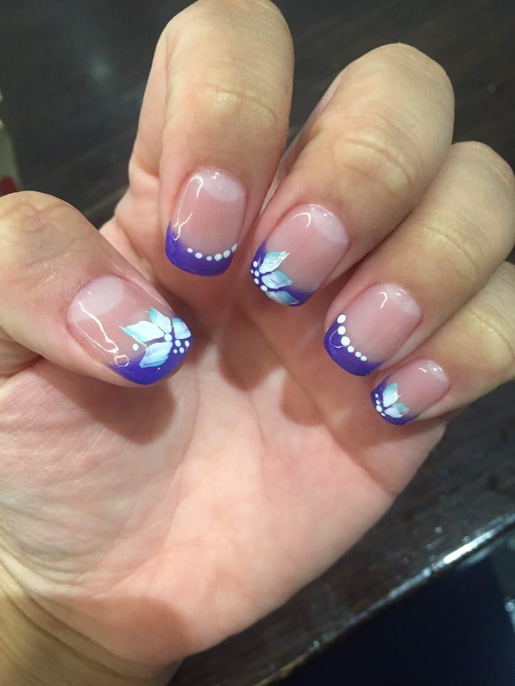 Sns Nail Art Designs