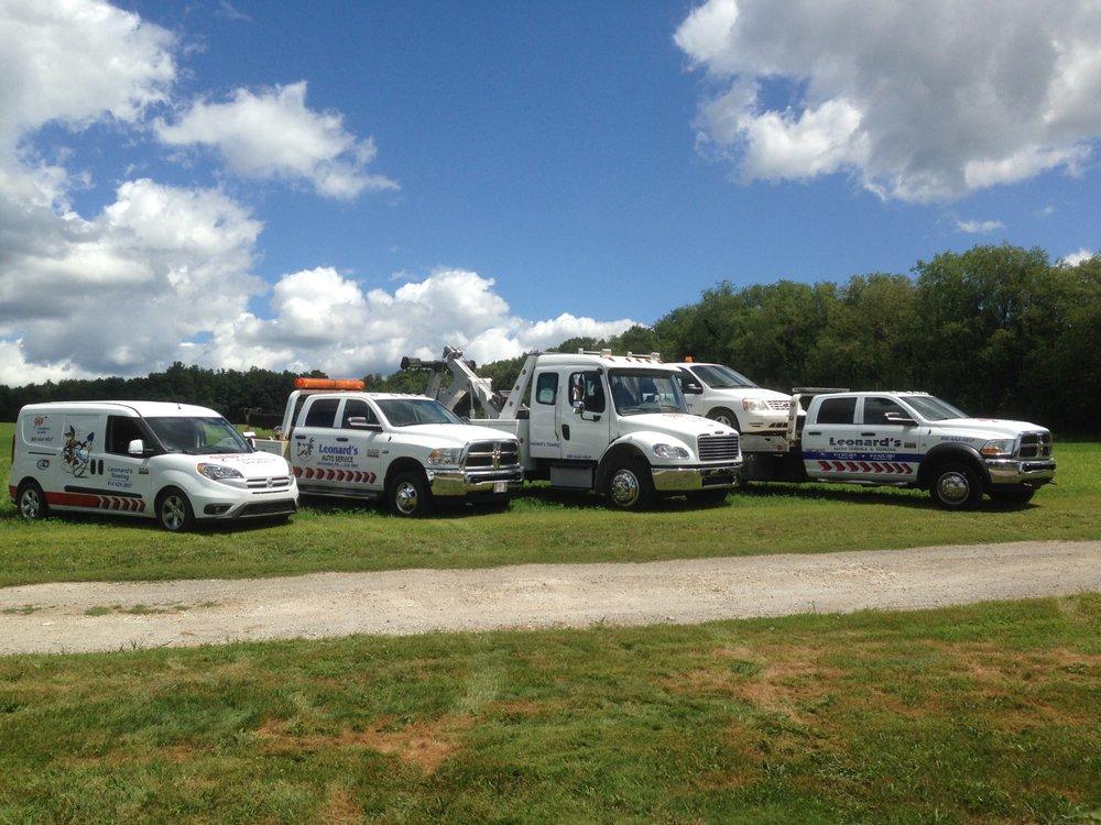 Leonards Auto Service & Towing: 24340 US Hwy 322, Cochranton, PA