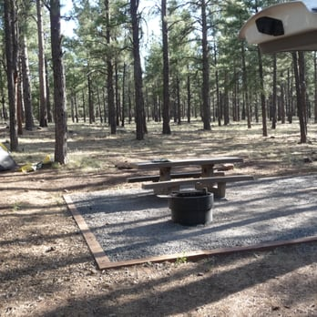 Williams arizona campgrounds with hookups