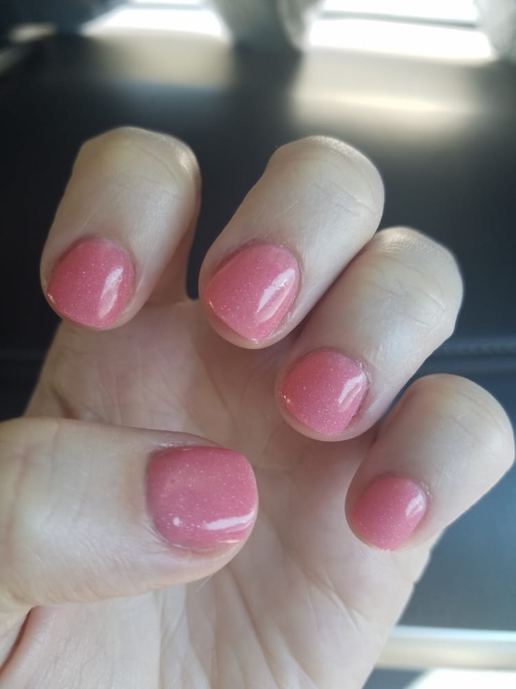 NexGen on natural nails (color 115), done by V. Done very well and ...