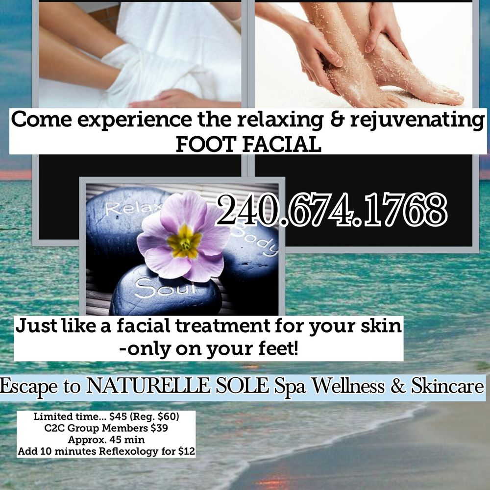 Naturelle Sole Spa Wellness & Skincare: 4 S Mccain Dr, Frederick, MD
