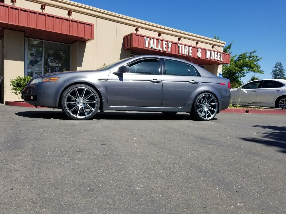 X And X Verde Quantum Concave Wheels On This Acura Tl Call - Best tires for acura tl