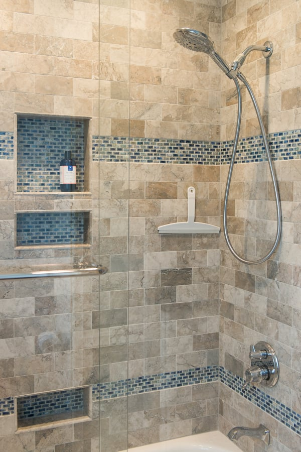 Small Master Bathroom Remodel Springfield Va By Contemporary Remodeling Yelp