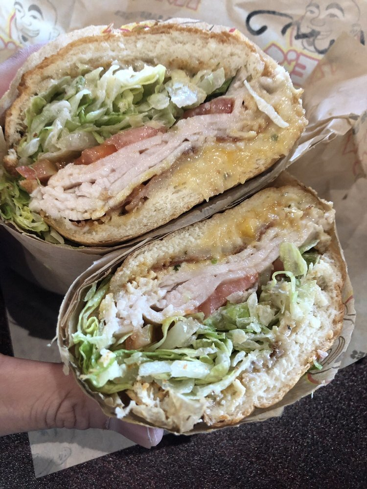 Food from Ike's Sandwiches