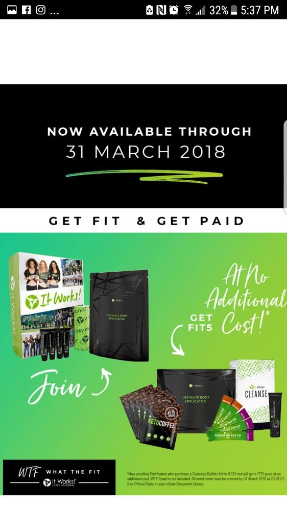 It Works! Independent Distributors wanted  Business Starter