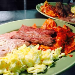 Photo Of La Sierrita Mexican Restaurant Arlington Tx United States Chilaquiles Con