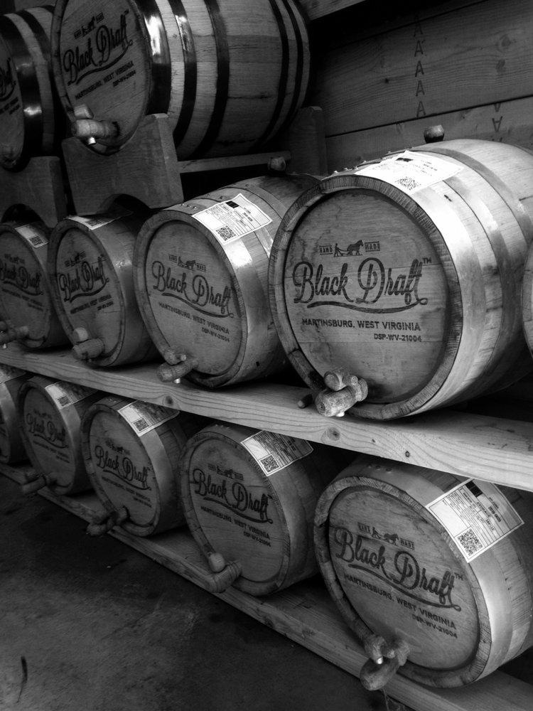 Black Draft Distillery: 1140 Kelly Island Rd, Martinsburg, WV