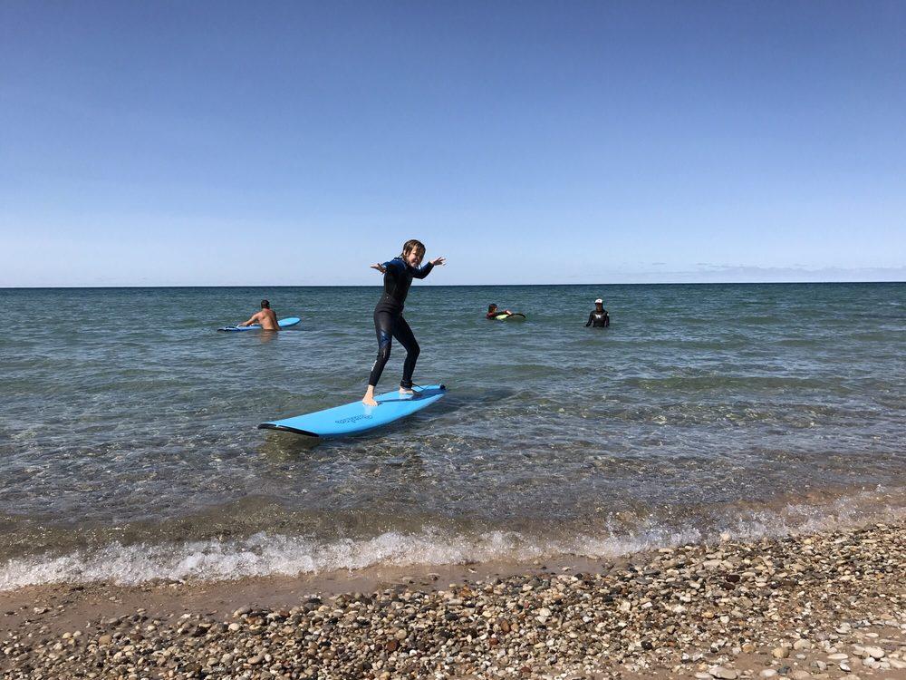 Sleeping Bear Surf & Kayak: 10228 W Front St, Empire, MI