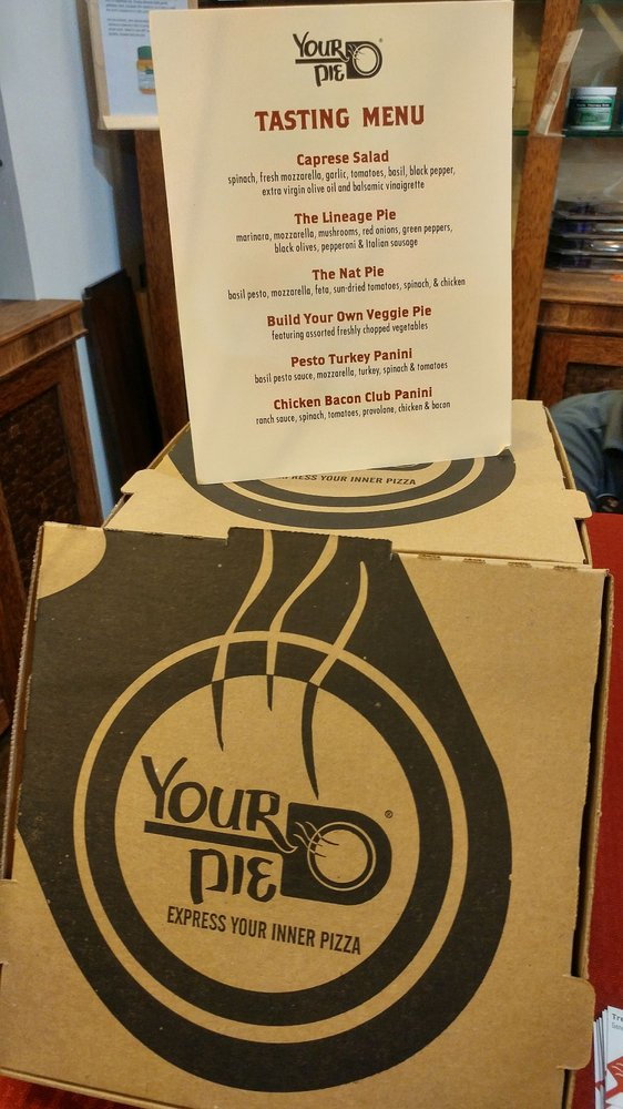 Free Your Pie samples - Yelp
