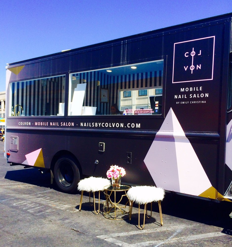 how to start a mobile nail salon