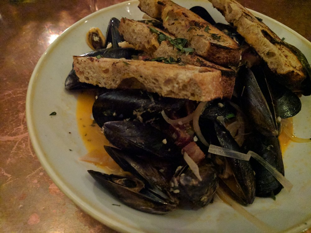 Steamed mussels yelp for Ironside fish and oyster san diego