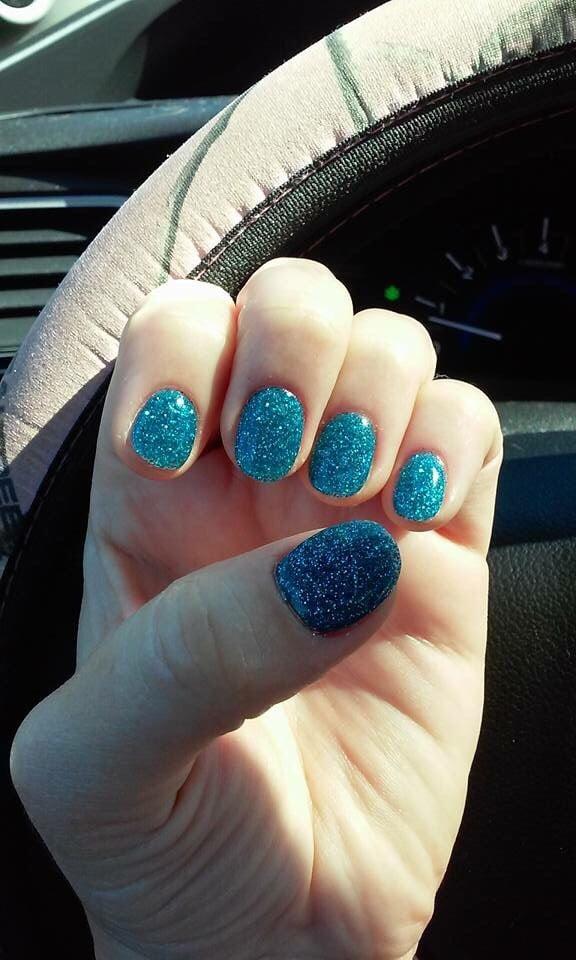 Christmas nails . Nexgen nails done Niki - Yelp