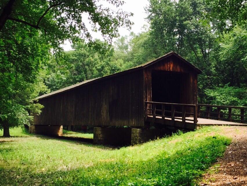 Locust Creek Covered Bridge State Park: Dart Rd, Meadville, MO