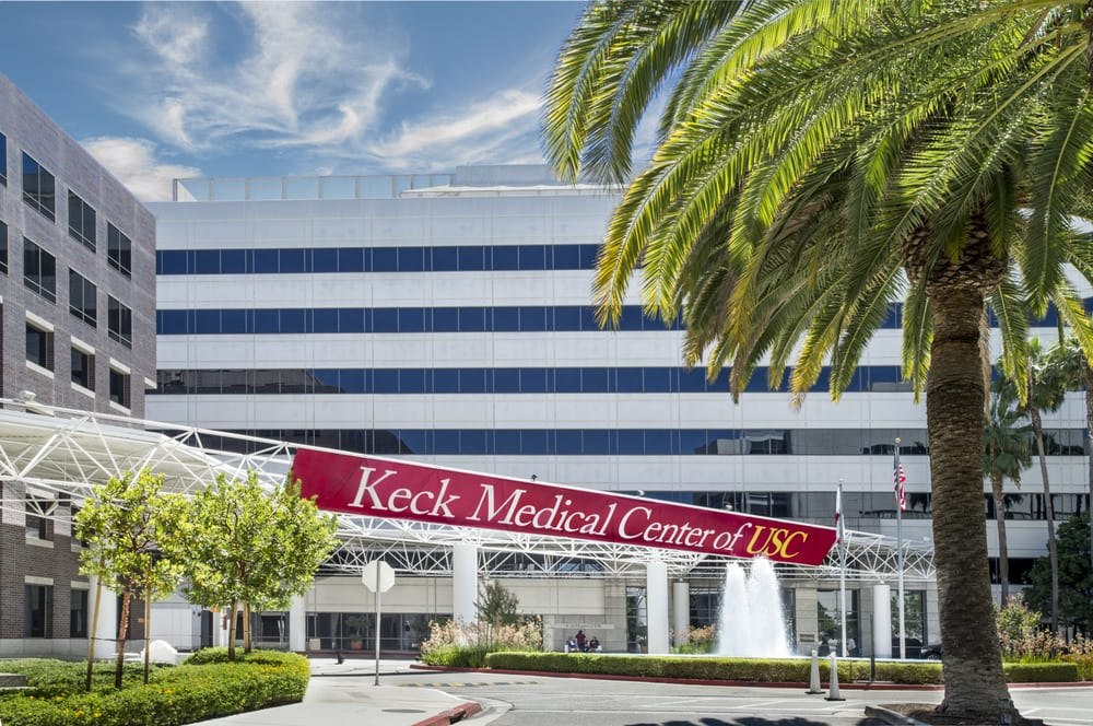 Keck Hospital of USC, part of Keck Medicine of USC, located