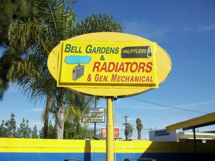 Bell Gardens Mufflers Garages 7518 Garfield Ave Bell Gardens Ca United States Phone