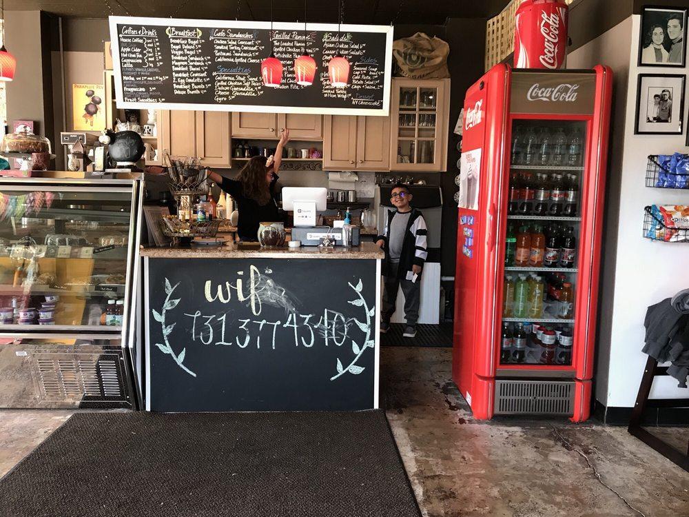 To The Last Drop Coffee Shop: 111 S College St, Trenton, TN