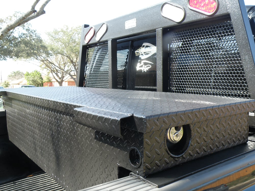 00 F250 Ranch Hand Rhinopro Headache Rack And Tool Box