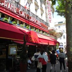 Le Grand Café des Capucines - Paris, France. exterior