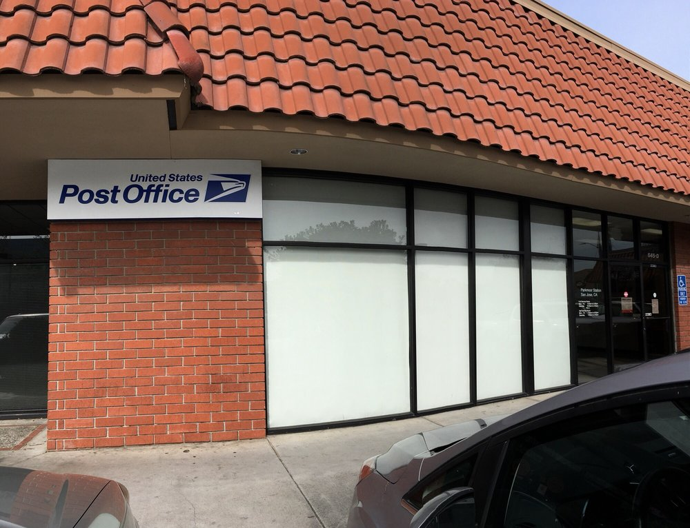 US Post Office: 545 Meridian Ave, San Jose, CA